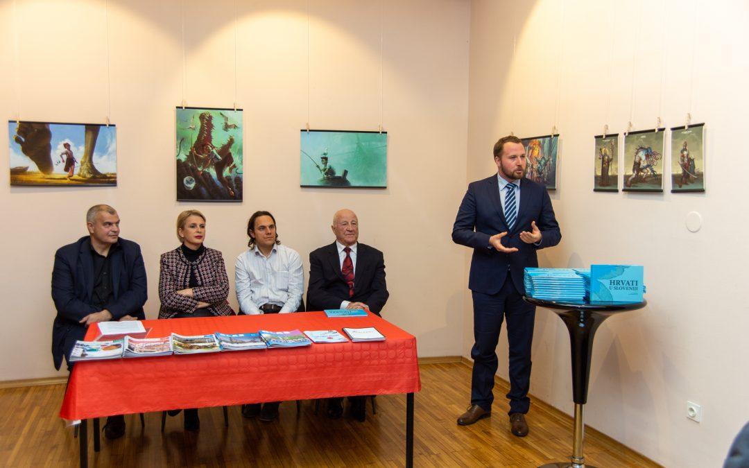 Promocija knjige Hrvati u Sloveniji autora Filipa Škiljana i Marine Perić Kaselj u Ljubljani 26. studenoga 2018