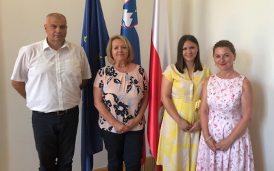 Delegacija Saveza Hrvata u mariborskoj općini
